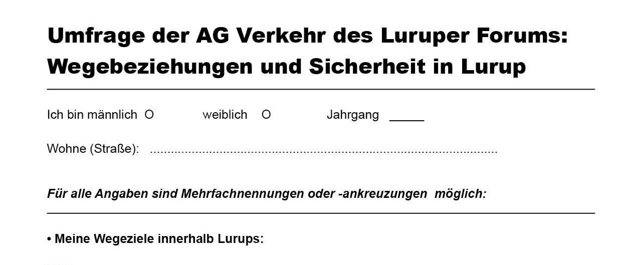 Fragebogen-AG-Verkehr